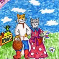 25 апреля, библиотека факультета СКД ЮУРГИИ, Челябинск, детские рисунки