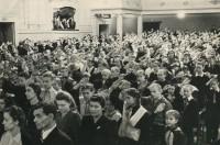 19 марта 1950, Челябинск, Слёт юных читателей, Л.А.Преображенская В.Н.Кузнецов