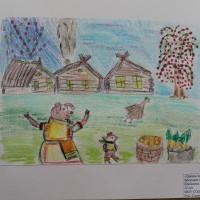 Рисунки-победители конкурса