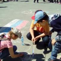 Праздник детства в сквере Молодогвардейцев, Челябинск, 1 июня 2016